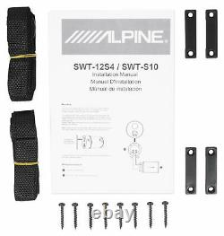 ALPINE SWT-12S4 1000w 12 Subwoofer in Bass Tube 4-Ohm Sub+Bluetooth Speaker