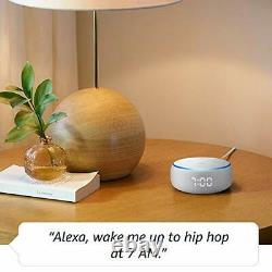 Amazon Echo Dot 3rd Generation Smart Speaker with Clock and Alexa Sandstone