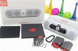 Beats Pill 2.0 Bluetooth Speaker with Charge Out White