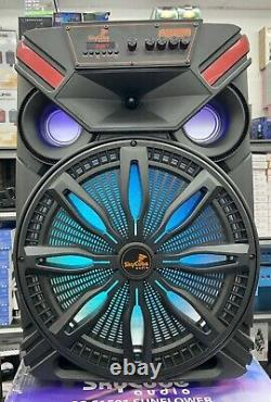 Bluetooth speaker 15 SkyCube 15000 Watts P. M. P. O Rechargeable Remote Mic Fm/us