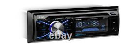 Boss 508UAB Dash CD Car Player USB/ MP3 Receiver Bluetooth + 4 6.5 Speakers