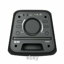 EMB 1000 Watts Portable Powered DJ Party PA Speaker with Bluetooth, USD, SD, MIC