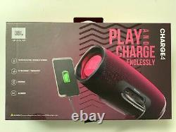 JBL Charge 4 Bluetooth Portable Speaker System Magenta100 Authentic