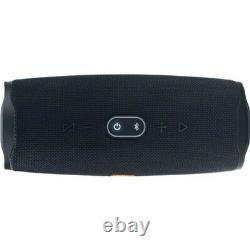 JBL Charge 4 Portable Bluetooth Speaker with Rugged Design IPX7 Waterproof Black