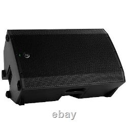 Mackie Thump15A 15 DJ PA Speakers with Stands & Bags + Bluetooth Receivers + Mics