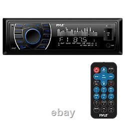 Marine Yacht USB Stereo Wireless Bluetooth Receiver System & 4 Speakers /Cover