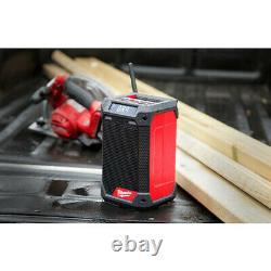 Milwaukee 2951-20 M12 Radio/Bluetooth Speaker withBuilt-In Charger (Tool Only) New