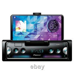 Pioneer SPH-C10BT Bluetooth Receiver, 4x 6.5 Coaxial Speakers, Amp & Kit, Wire
