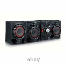 Stereo System Kit Home Theater Shelf Speakers 700W 2.1 Channel Wireless Stream