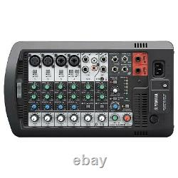Yamaha STAGEPAS 400BT Portable Bluetooth PA DJ Speaker System w Mixer Package